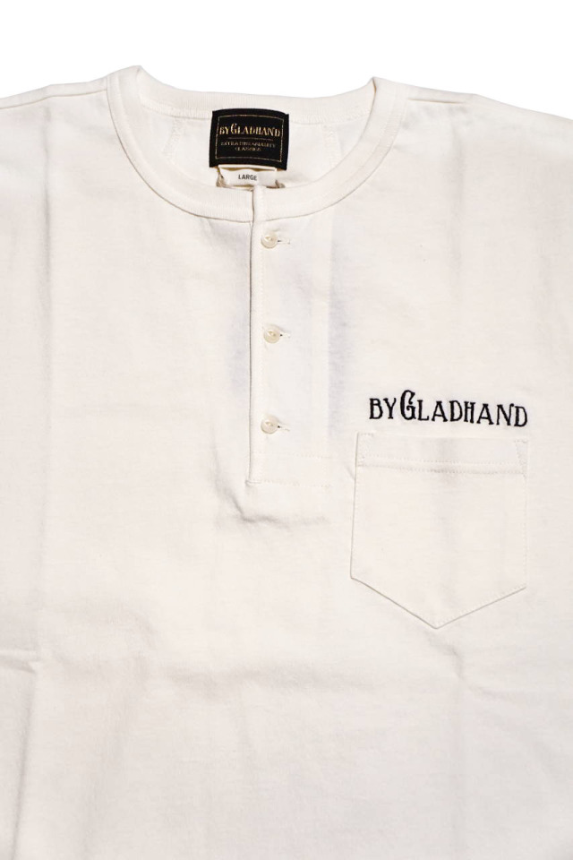 BY GLAD HAND FOR SMOKING VOYAGE - S/S HENRY T-SHIRTS WHITE