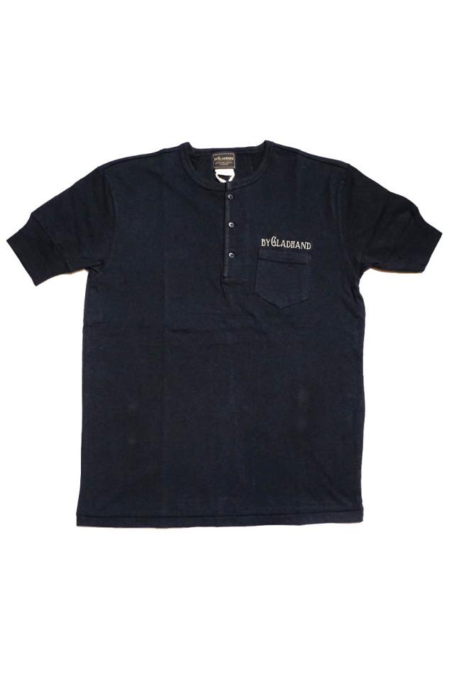 BY GLAD HAND TRADEMARK - S/S HENRY T-SHIRTS BLACK