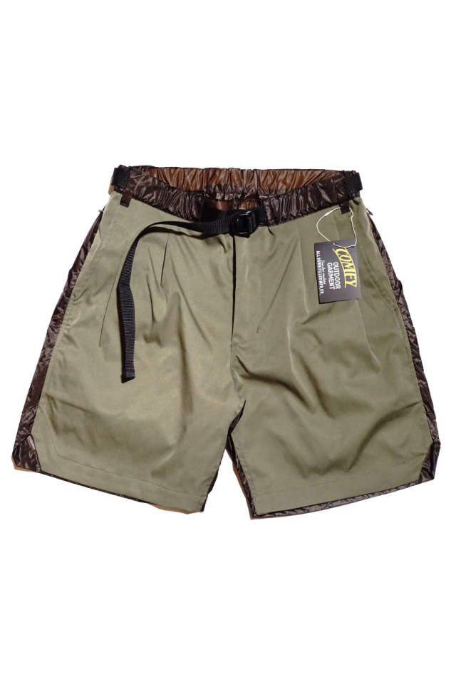 COMFY OUTDOOR GARMENT TREK SHORTS KHAKI