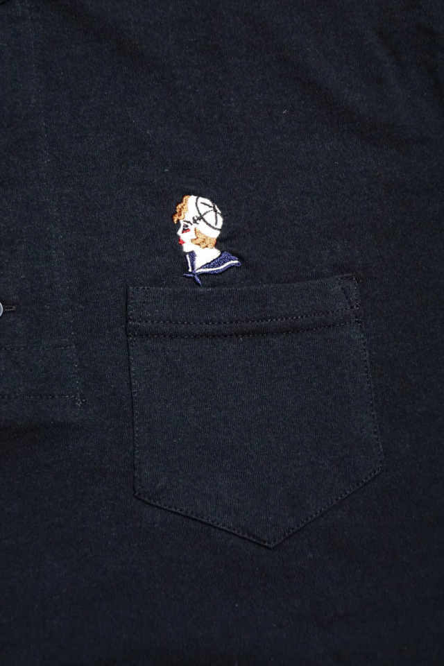 BY GLAD HAND MARY - S/S HENRY T-SHIRTS BLACK