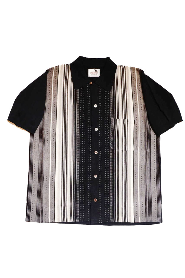 GANGSTERVILLE BOULEVARD - S/S SHIRTS BLACK