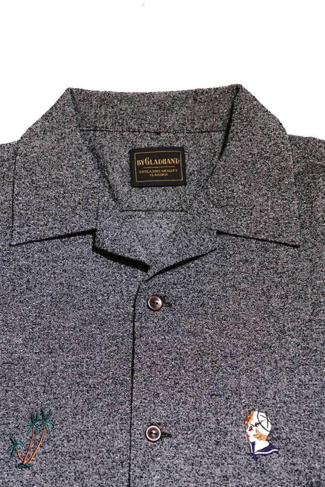 BY GLAD HAND MARY - S/S SHIRTS GRAY