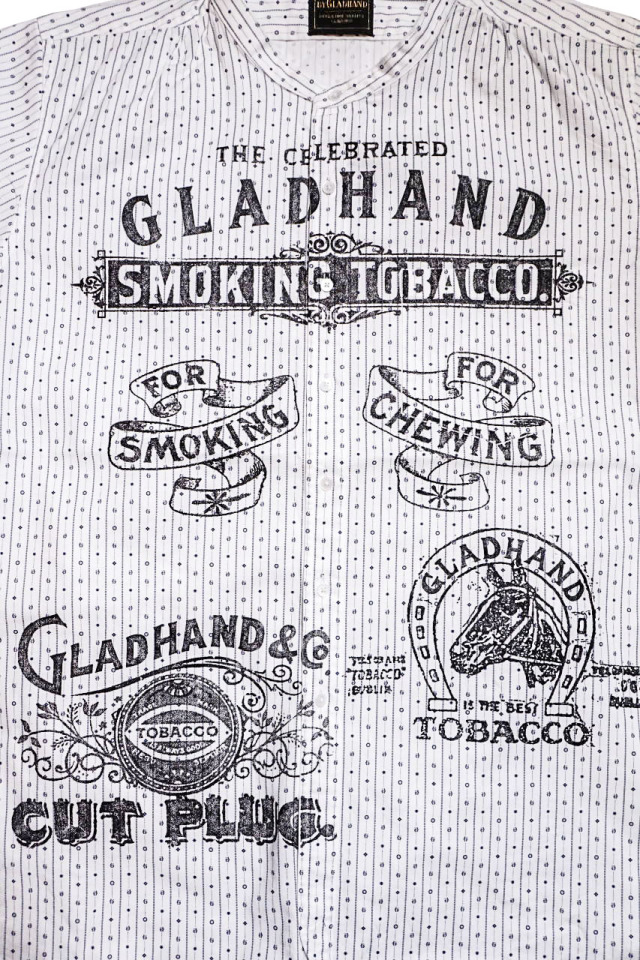 BY GLAD HAND FOR SMOKING - S/S SHIRTS WHITE