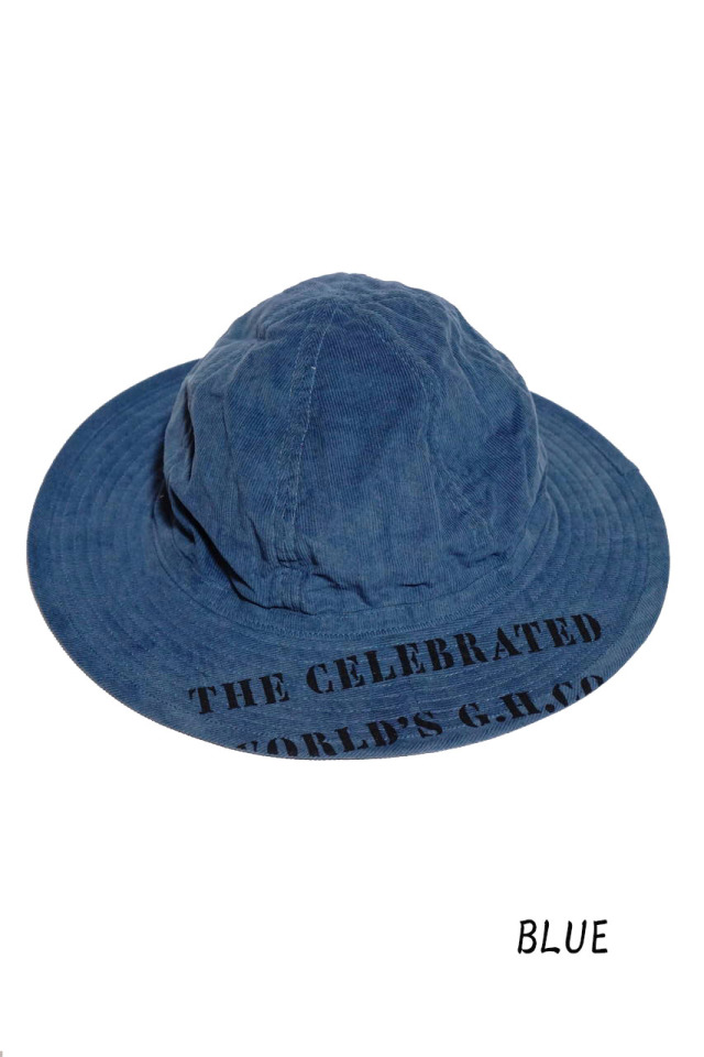 BY GLAD HAND GLADDEN - CORDUROY HAT