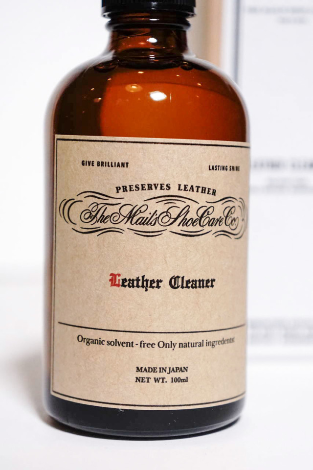The Mail's shoe care co. Leather Cleaner