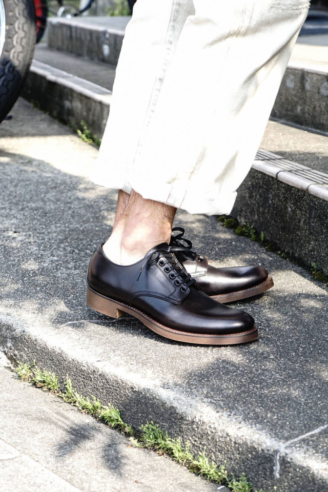 "CLINCH Service shoes Black ""RS-Soft O'Sullivan's Cork sole Brown"""