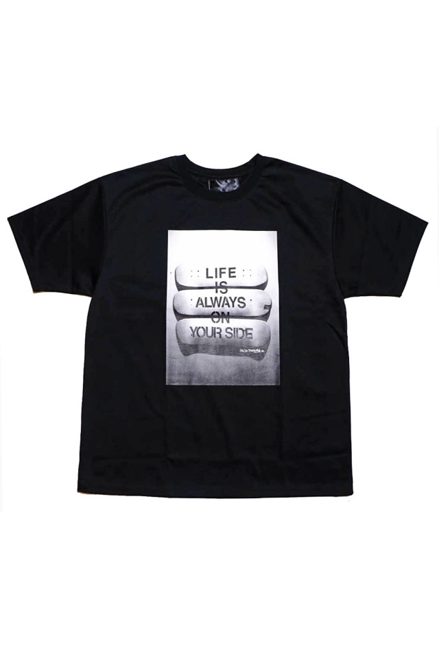 JANIS & Co. x MICHI MADNESS #LIFE IS… TEE BLACK