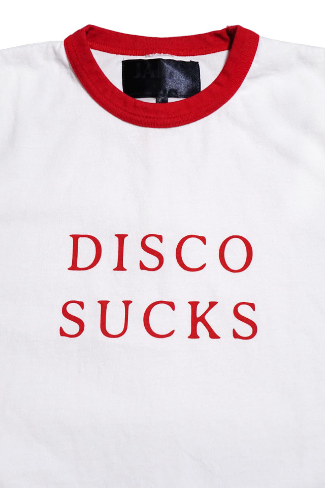 JANIS & Co. #DISCO SUCKS TEE RED