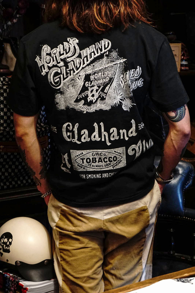 BY GLAD HAND FOR SMOKING - S/S T-SHIRTS BLACK