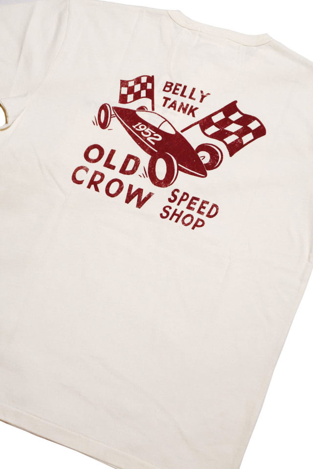 OLD CROW BELLY TANK - S/S HENRY T-SHIRTS WHITE