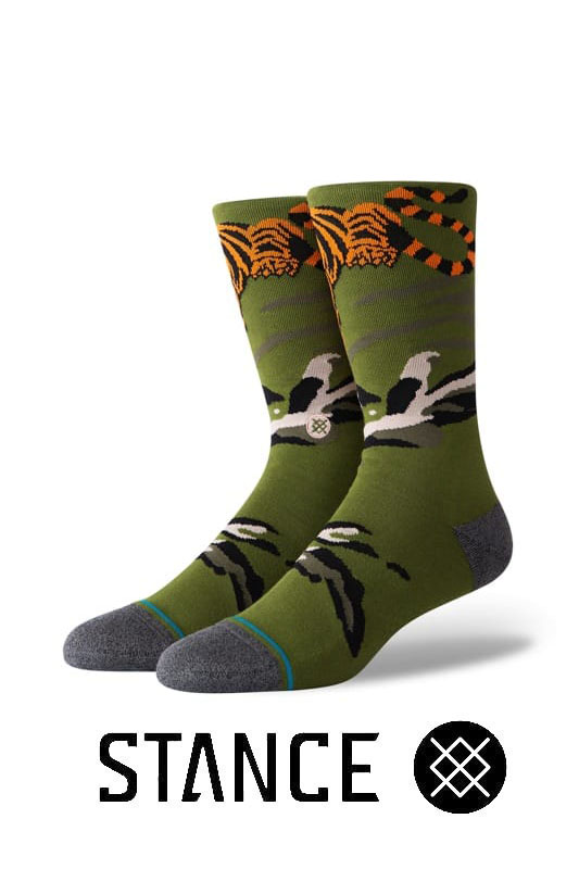STANCE SOCKS Big Cat Crew