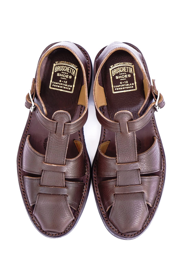 "BRUSCHETTA SHOES ""ORLEANS"" D.BROWN"