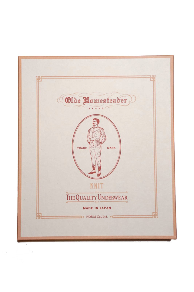 "Olde Homesteader ""Henley Neck Longsleeve"" – Interlock – Ivory"