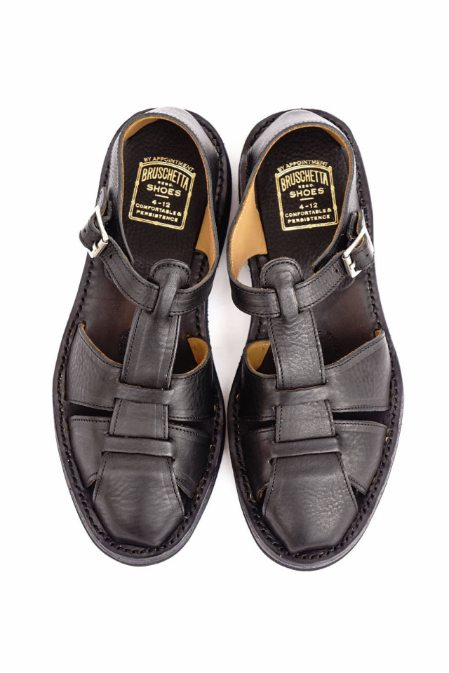 "BRUSCHETTA SHOES ""ORLEANS"" BLACK"