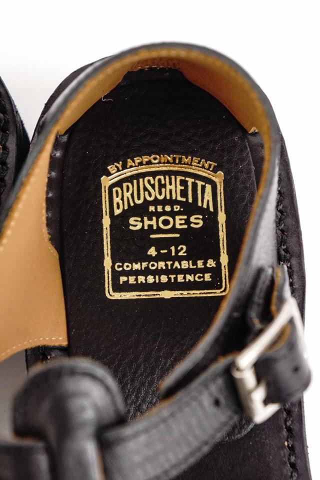 """BRUSCHETTA SHOES """"ORLEANS"""" BLACK"""