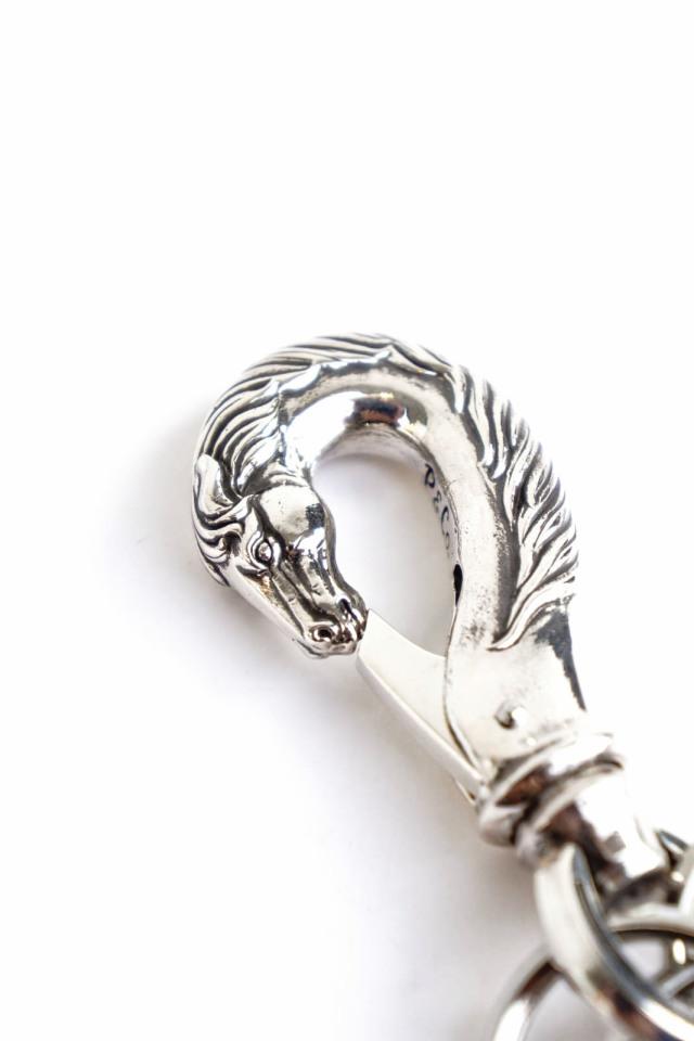 "PEANUTS & Co. horse key hook ""L"" silver"