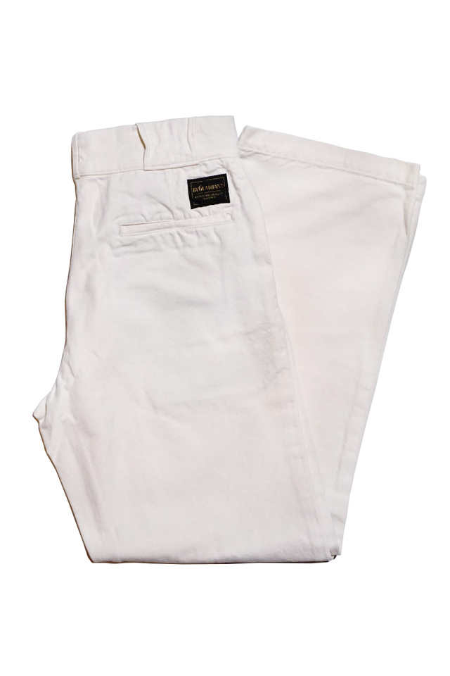 BY GLAD HAND BROTHER UNION - TROUSERS IVORY
