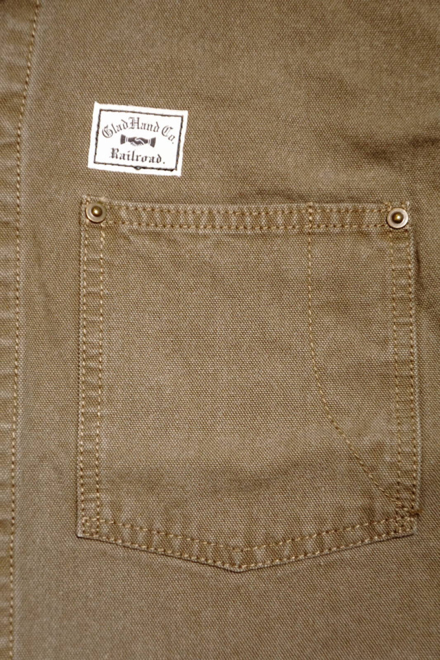 BY GLAD HAND BROTHER UNION - COVERALL BROWN