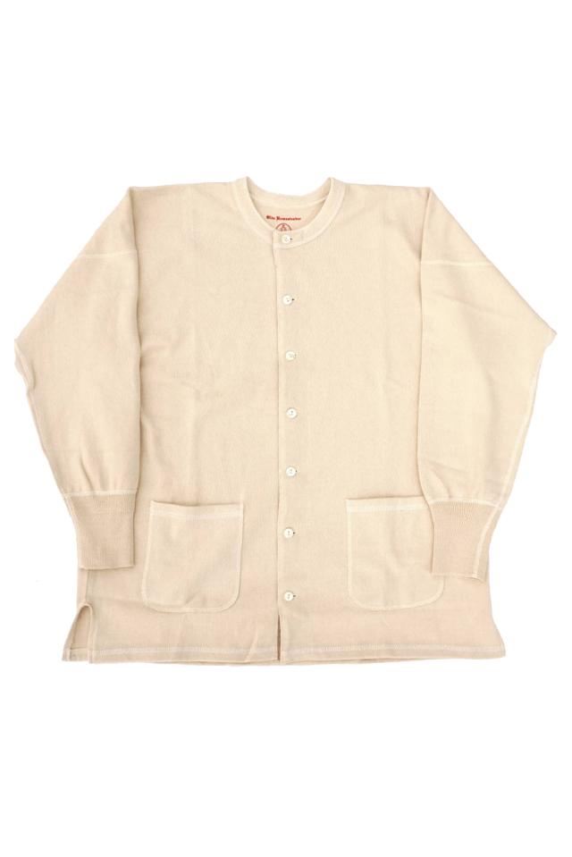 """Olde Homesteader """"Open Front Sweater"""" -Rustic Jersey- ECRU"""