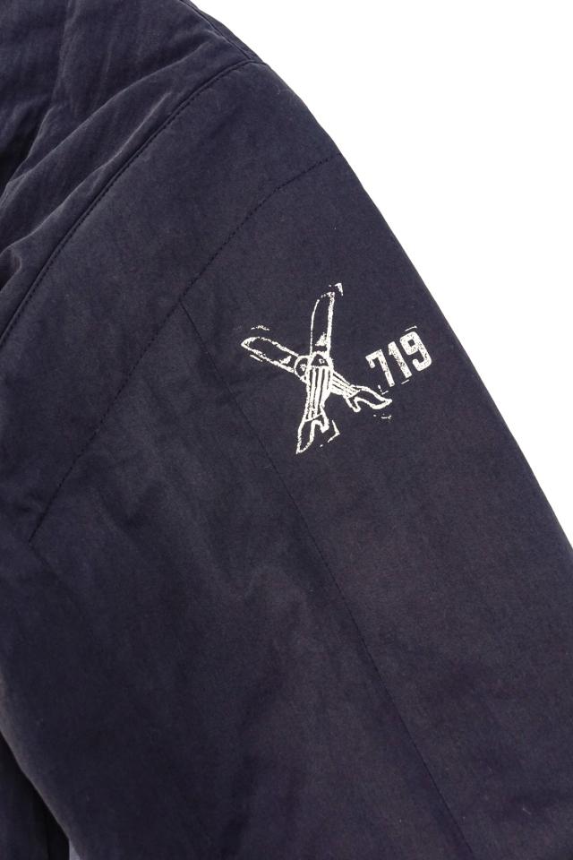 GANGSTERVILLE 719 - QUILTED JACKET BLACK