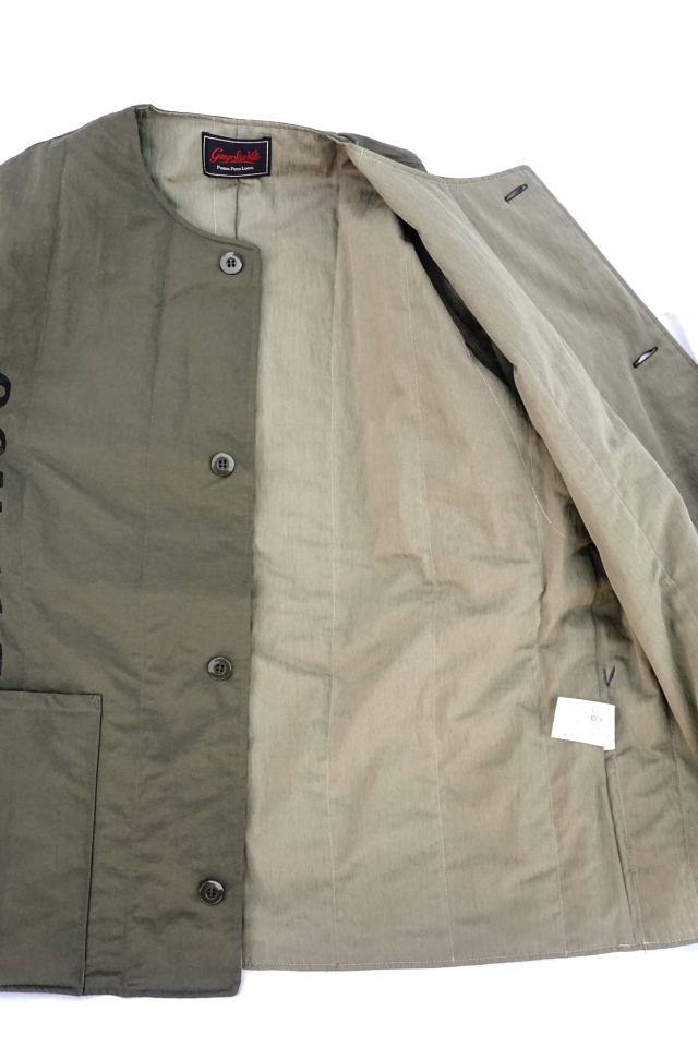GANGSTERVILLE 719 - QUILTED JACKET KHAKI