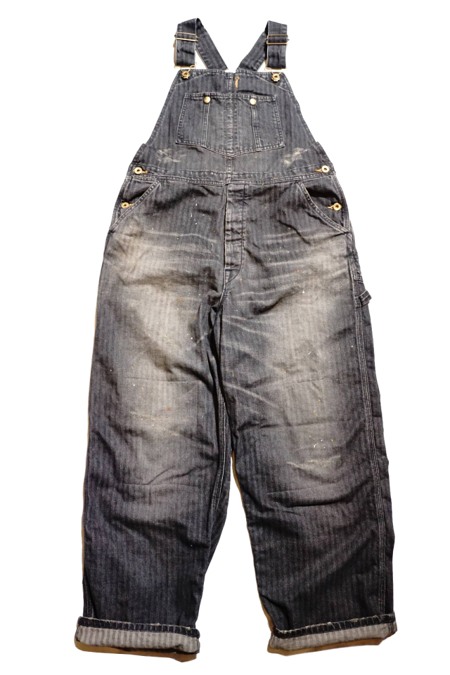 "OLD CROW OLD RODDER - OVERALL BLACK ""VINTAGE FINISH"""