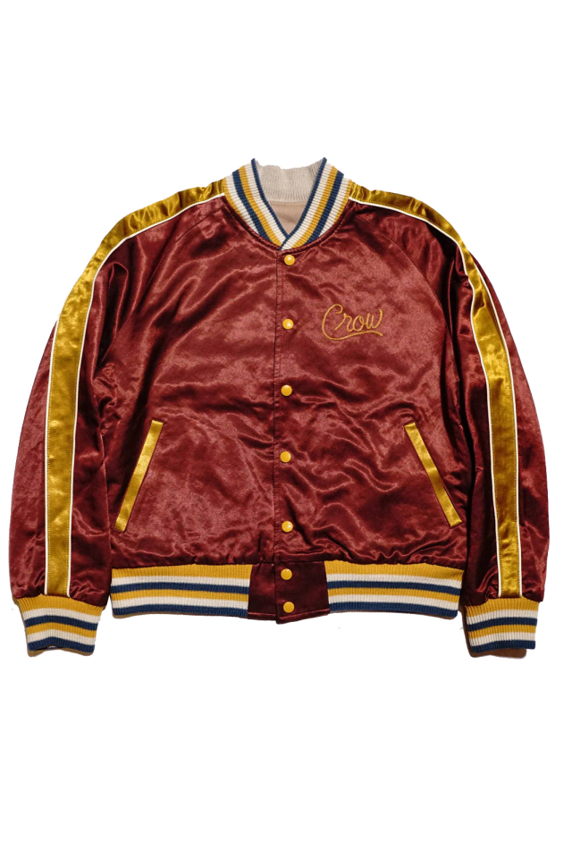 OLD CROW RACING CLUB - REVERSIBLE JACKET BURGUNDY