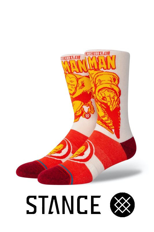 STANCE SOCKS Iron Man Marquee