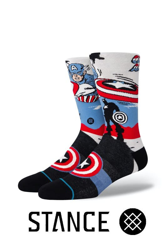 STANCE SOCKS Captain America Marquee