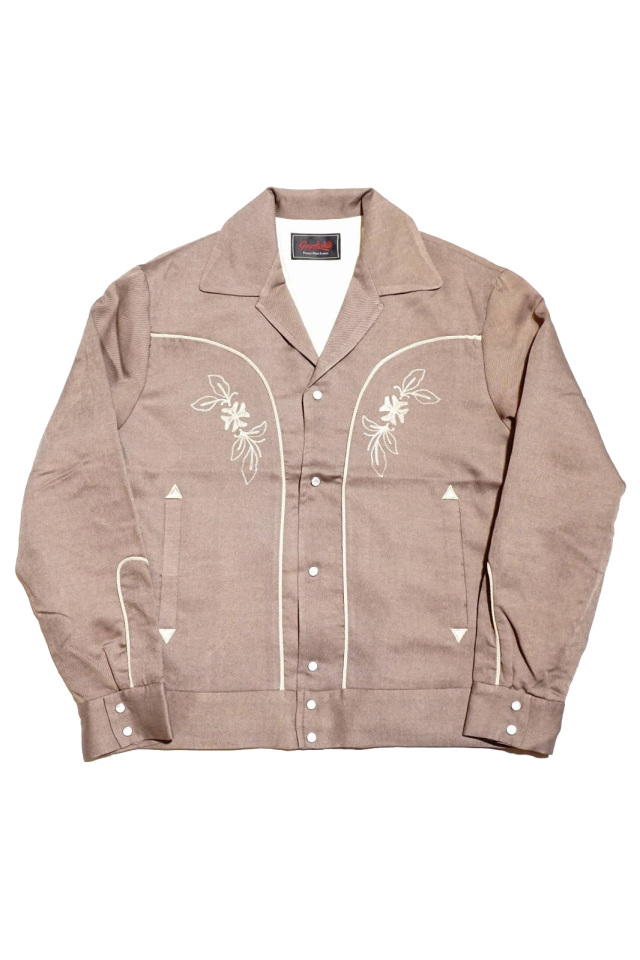 GANGSTERVILLE DJANGO - JACKET BROWN