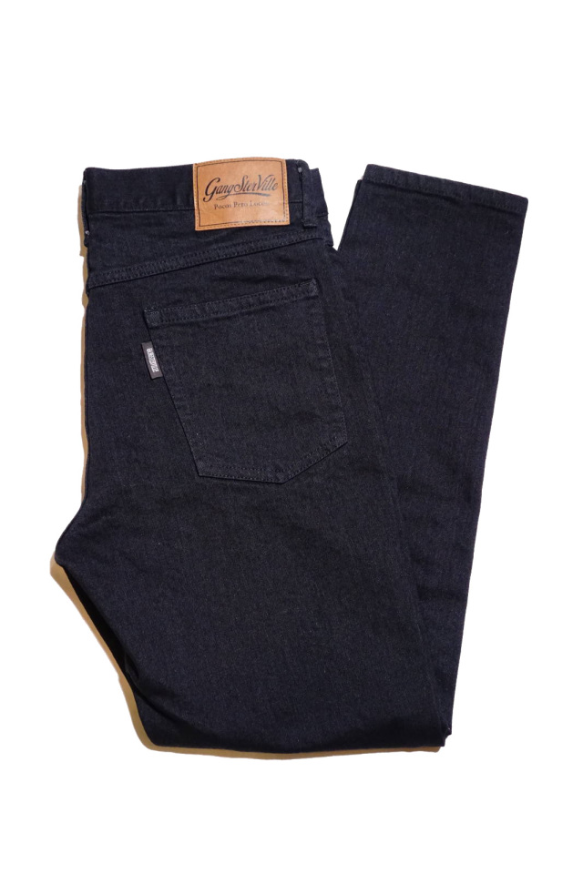 GANGSTERVILLE THUG - SKINNY STRETCH PANTS BLACK