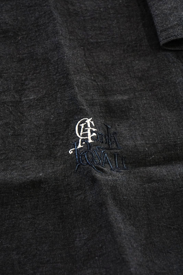 """BY GLAD HAND HOTEL ROYAL - L/S PULLOVER LONG SHIRTS LIMITED COLOR """"BLACK"""""""