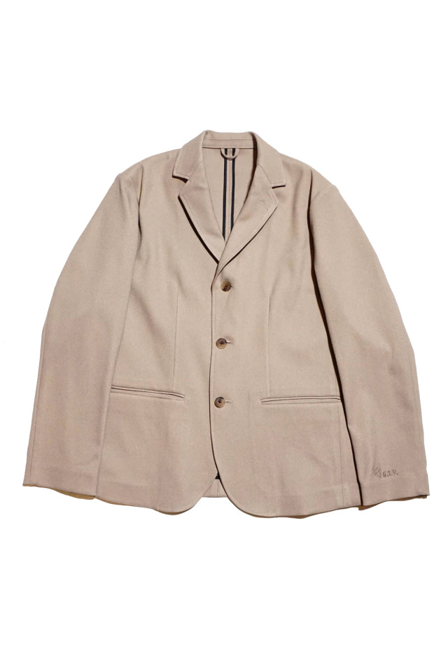 GANGSTERVILLE EASY JACK - TAILORED JACKET BEIGE