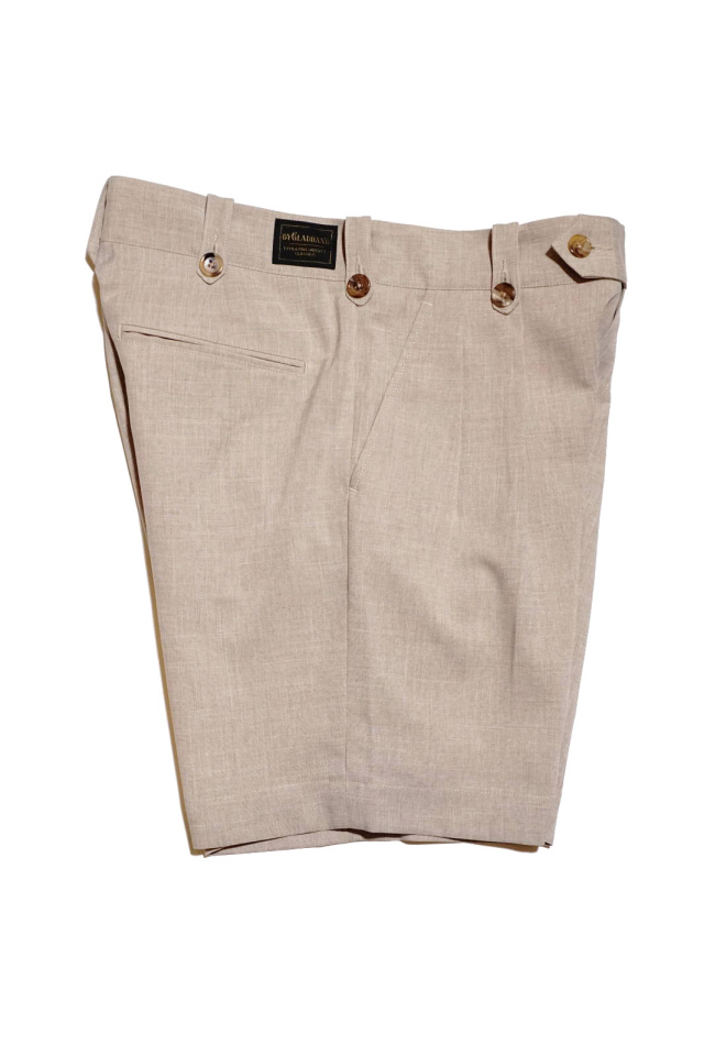 BY GLAD HAND EMPIRE ROOM - SHORTS BEIGE