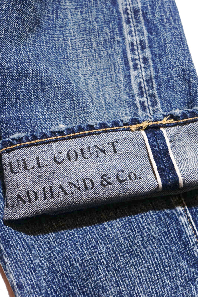 "GLAD HAND × FULLCOUNT 1111 SLIM STRAIGHT ""VINTAGE FINISH"""