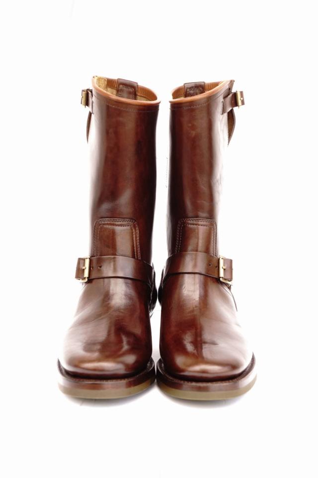 CLINCH Engineer boots Horsebutt overdye BROWN