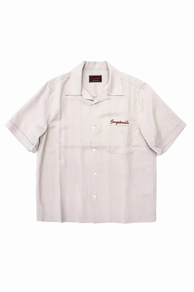 GANGSTERVILLE JUNGLE PANTHER - S/S WORK SHIRTS IVORY