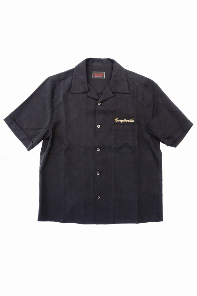 GANGSTERVILLE JUNGLE PANTHER - S/S WORK SHIRTS BLACK