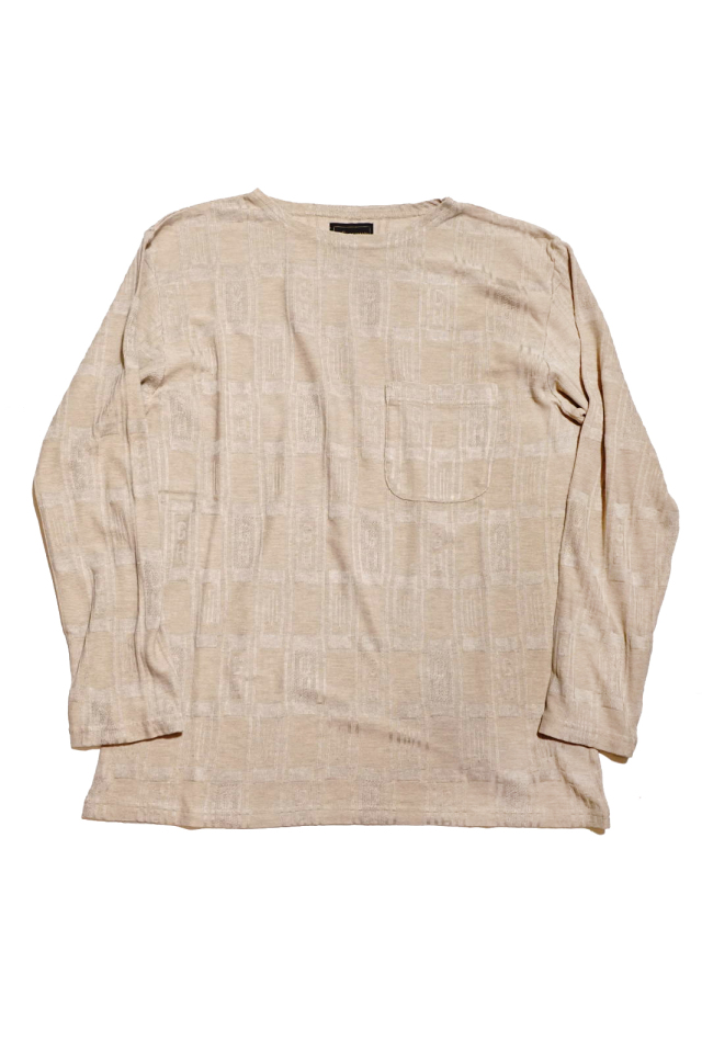 BY GLAD HAND EMPIRE GLAD - L/S BOAT NECK BEIGE