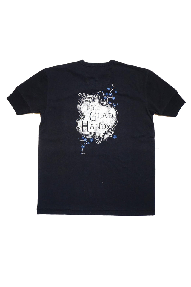 BY GLAD HAND EMPIRE ROOM - S/S HENRY T-SHIRTS BLACK