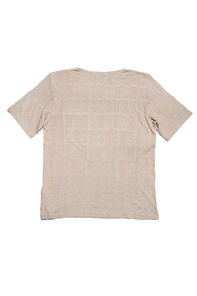 BY GLAD HAND EMPIRE GLAD - S/S BOAT NECK BEIGE