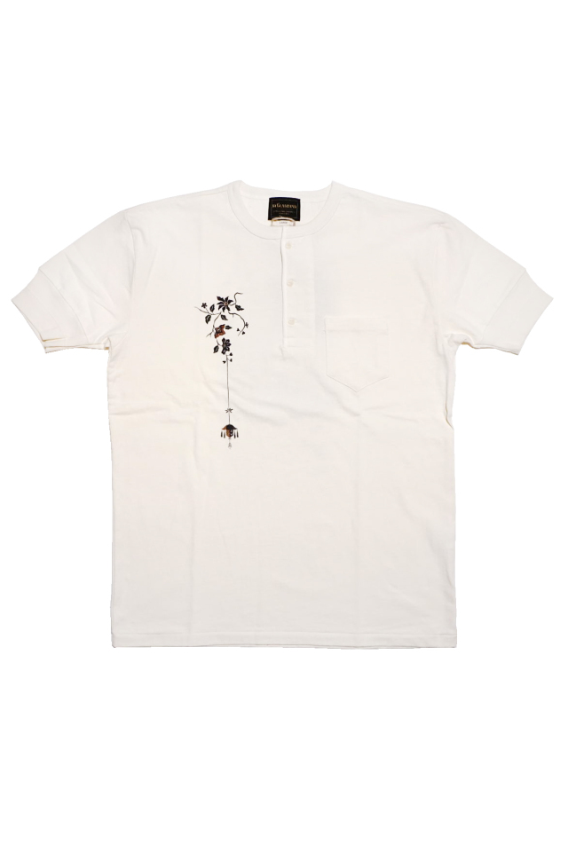 BY GLAD HAND EMPIRE ROOM - S/S HENRY T-SHIRTS WHITE