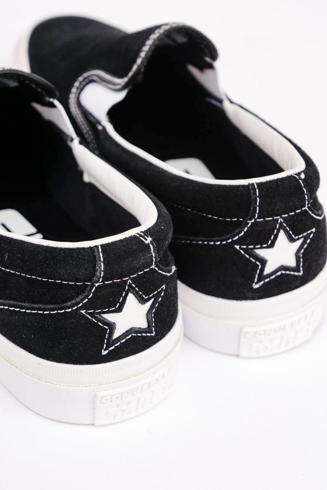 """日本未発売 """"CONS"""" CONVERSE ONE STAR CC SLIP PRO BLACK/WHITE"""