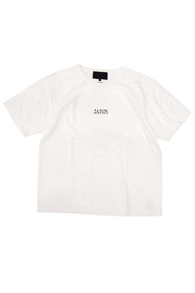 JANIS & Co. #CROSS TEE WHITE