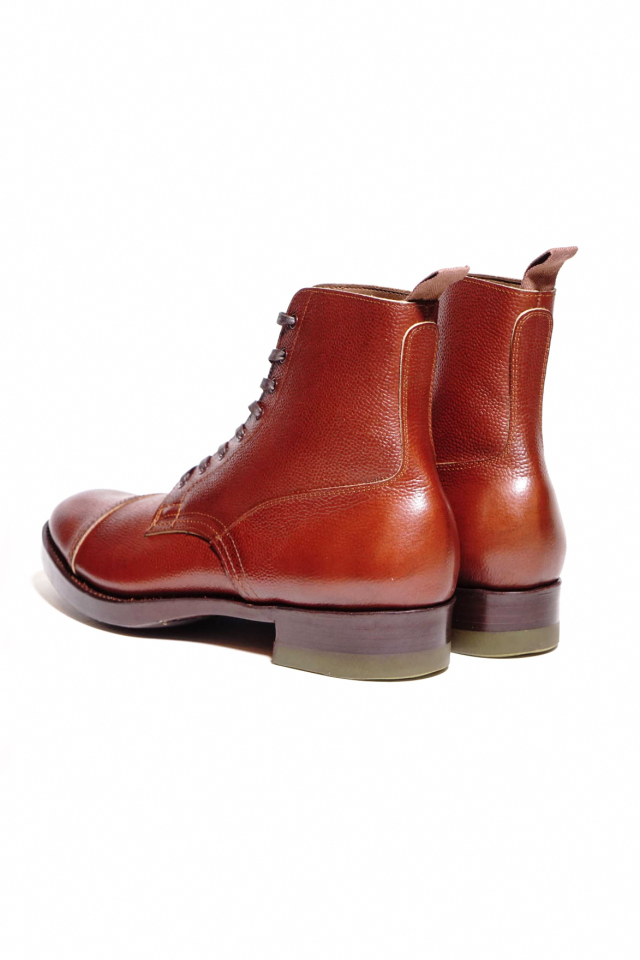 CLINCH Graham Boots Brown Embos B.S.W. Special Order