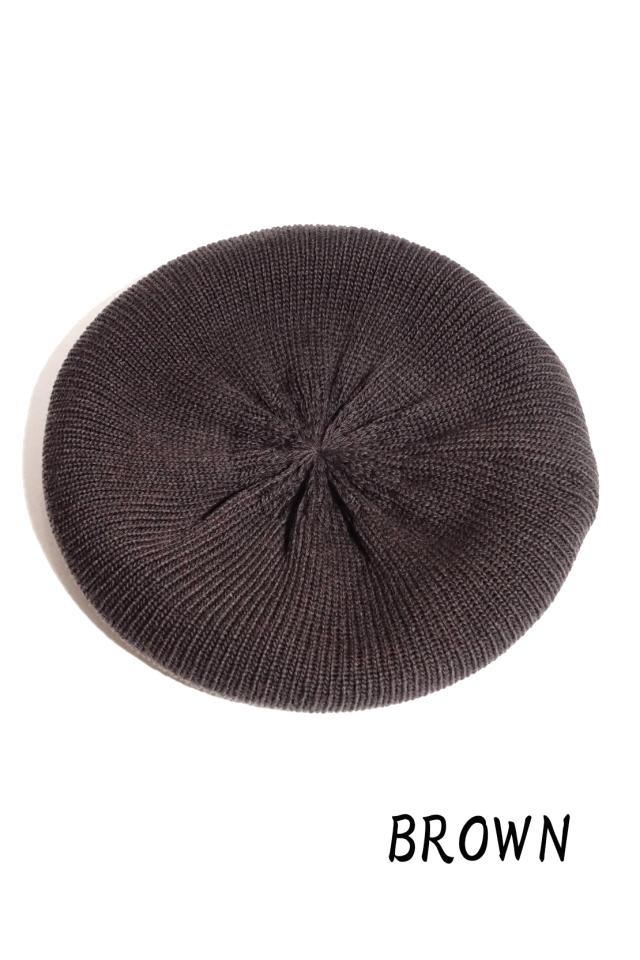 """Mr.FATMAN """"Wool Knit Beret"""""""