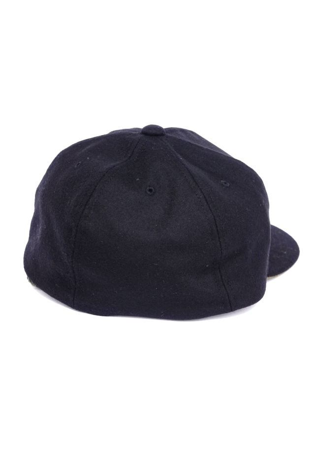 """Mr.FATMAN """"Wolfman BB Wool Cap"""" BLACK"""