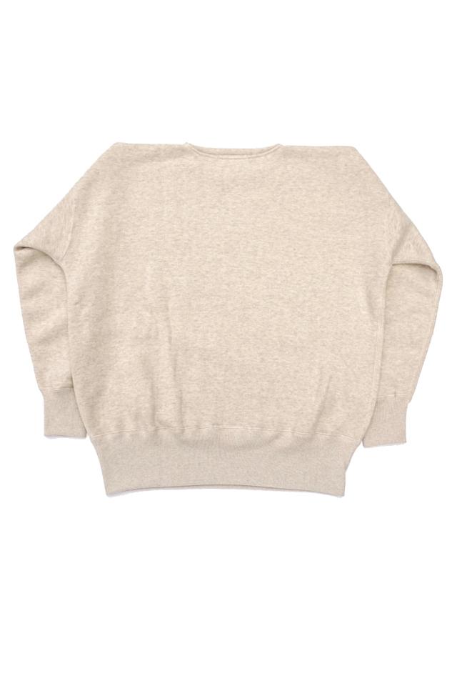 "Olde Homesteader ""Extra Cotton Fleece / Crew Neck Long Sleeve"" OATMEAL"