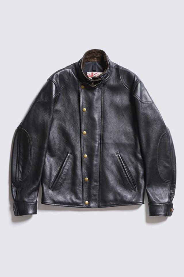 ADDICT CLOTHES JAPAN AD-09 ULSTER JACKET (SHEEP) BLACK