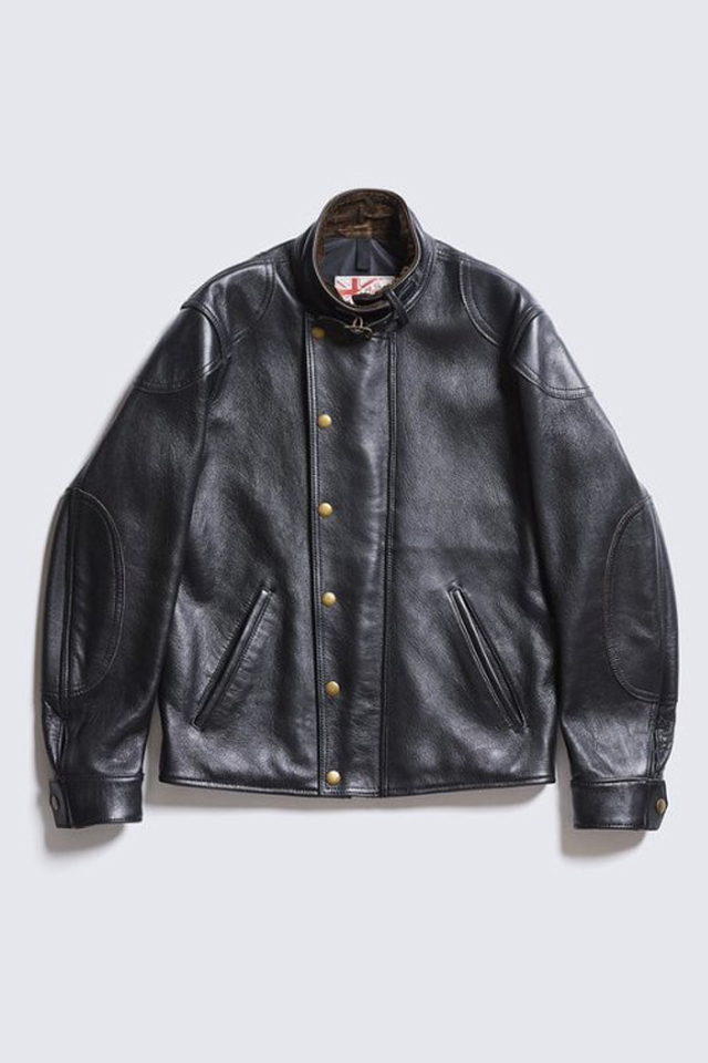 ADDICT CLOTHES JAPAN AD-09 ULSTER JACKET (SHEEP) BLACK
